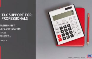 Distressed debt | BDO Tax Support for Professionals