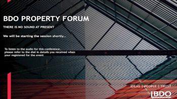 The impact of COVID- 19 on VAT  BDO Property Forum