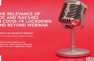 The relevance of SOC and ISAE3402 in COVID-19 lockdown and beyond| BDO Webinar