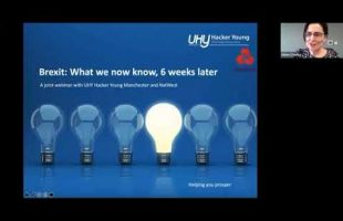 Brexit webinar, what we now know