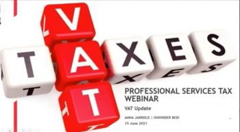 BDO Professional Services Tax Webinar Series: An update on UK and international VAT
