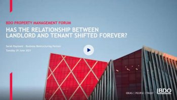Has the relationship between Landlord and Tenant shifted forever?