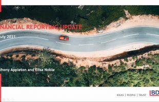 Financial Reporting Webinar