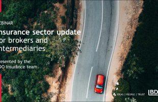 BDO webinar for insurance brokers and intermediaries  | BDO Webinar