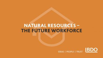 Career aspiration changes for Young people in Natural resources | Interview with Vince Pizzoni
