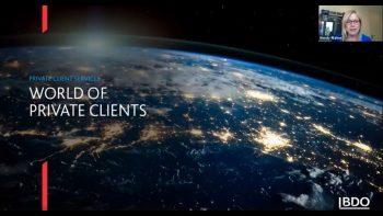 World of Private clients | BDO Webinar