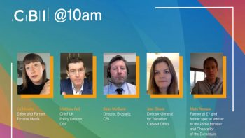 CBI @10am – One month on: what's the next for our future relationship with the EU – 3 February 2021