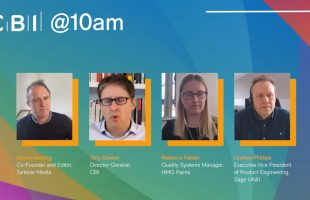 CBI @10am – The innovation imperative how businesses can use tech to rebuild – 8 February 2021