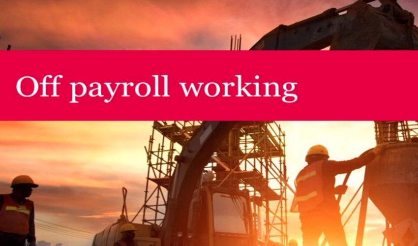Off Payroll Working IR35 2021