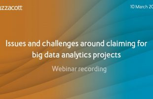R&D webinar Q&A | Issues and challenges when claiming for big data analytics