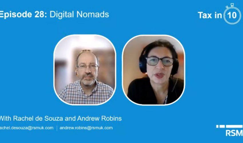 Tax in 10: Episode 28  Digital Nomads