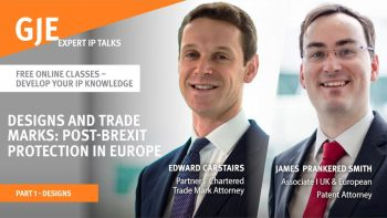 Designs & Trademarks: Post Brexit Protection in Europe: Part 1 – Designs