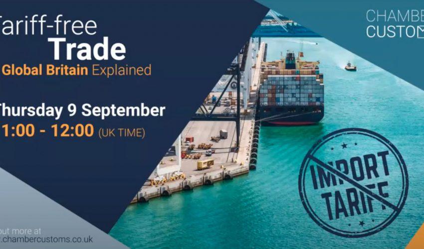 Tariff-free Trade. Global Britain Explained